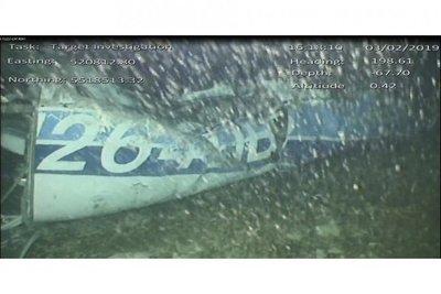 El equipo privado de búsqueda de Sala pide reflotar el avión