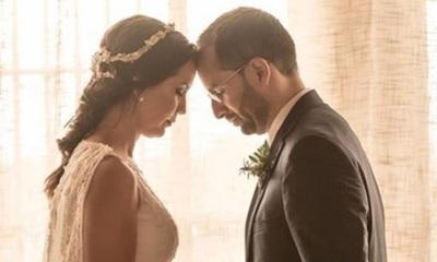 Toto González romántico con su esposa