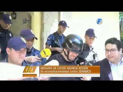 """Abogado de """"Cucho"""" anuncia acción de inconstitucionalidad"""