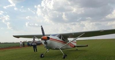 Procesan a tripulantes de avión que  realizó aterrizaje forzoso en Raúl Peña
