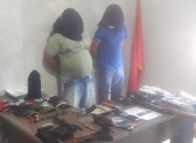 Detienen a presuntos delincuentes que robaron a dueño de supermercado