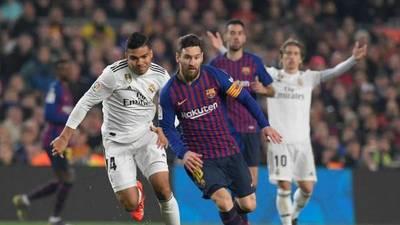 Barcelona y Real Madrid igualaron por la semifinal de la Copa del Rey