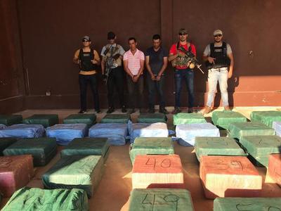 Incautan más de dos toneladas de cocaína en Yby Yaú