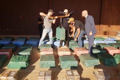Incautación récord: narcos pierden entre 60 a 80 millones de dólares