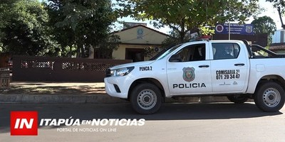 DENUNCIAN HURTO DE MOTOCICLETA RECUPERADA POCOS MESES ATRÁS.
