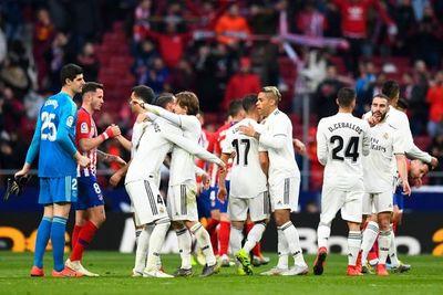 Real Madrid vence al Atlético y le quita el 2º puesto