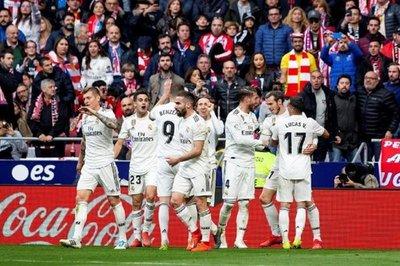 El Real Madrid gana al Atlético y vuelve a creer en la Liga