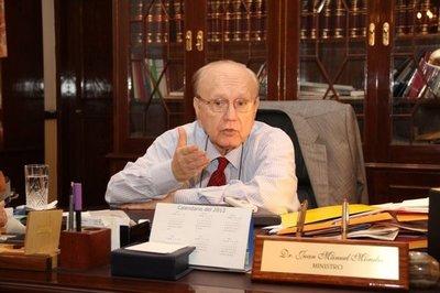 Falleció Juan Manuel Morales, ex ministro del TSJE