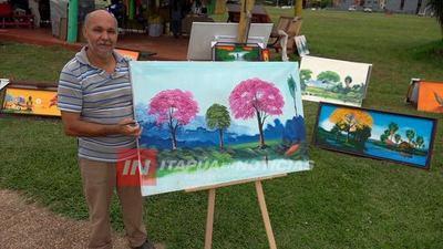 ARTISTA PARAGUAYO MUESTRA SUS OBRAS EN ENCARNACIÓN.