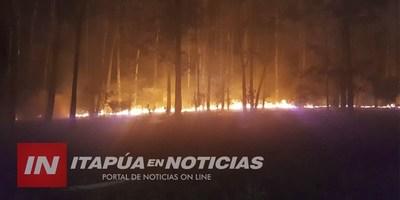 QUEMA INCONSCIENTE DE RESIDUOS GENERAN INCENDIO DE PASTIZAL EN LA PAZ.