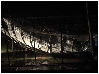 """""""Tornado"""" destechó siete casas y dos tinglados en Filadelfia"""