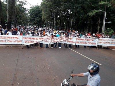 Tensión previa a sesión en Ciudad del Este – Prensa 5
