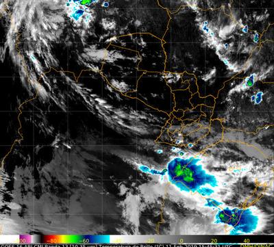 Rige alerta de tormentas para el Sur