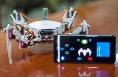 Crean un robot arácnido para rescate de personas