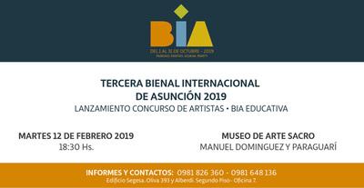 Lanzarán hoy el concurso para artistas y la plataforma educativa BIA