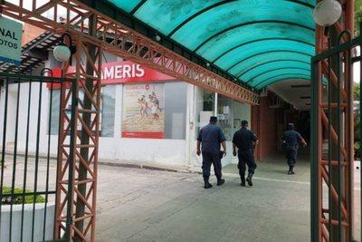 Detienen a supuesto asaltante de sucursal bancaria en Villa Morra