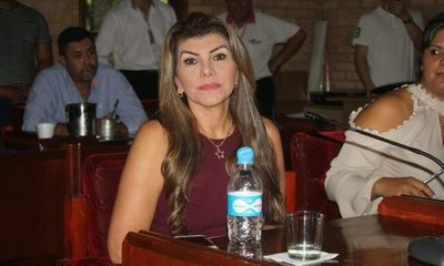 Perla de Cabral, intendente interina de CDE