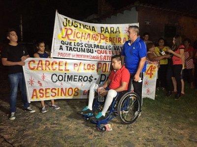 """Richard Pereira: """"Estoy feliz con el inicio del juicio"""""""