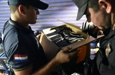 Comandante asegura que celulares robados fueron incautados en galería
