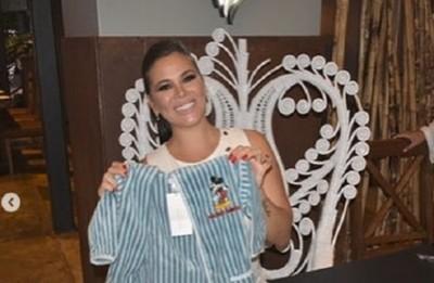 La ex modelo Pamela Caballero tuvo su baby shower