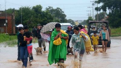 Temporal afecta a más de 4.000 familias en Bolivia