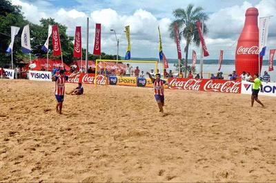 Final de la Superliga de Fútbol de Playa se hará en Encarnación