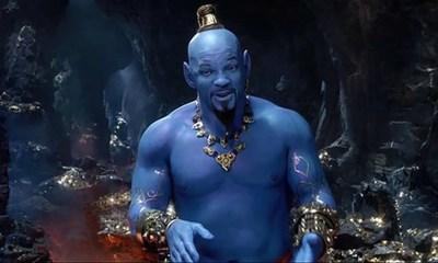 Revelan tráiler de Aladín con Will Smith como Genio