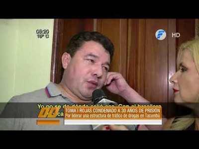Toma´i Rojas condenado a 30 años de prisión