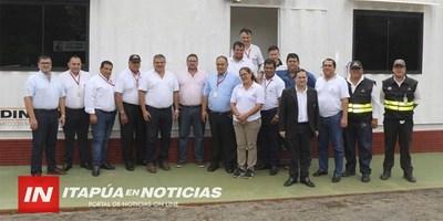 INAUGURAN MEJORAS EN PUESTO DINATRAN DE EDELIRA