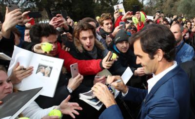 HOY / No le asusta la idea del retiro a Roger Federer