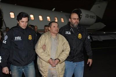 """Joaquín """"El Chapo"""" declarado culpable por la justicia de EE.UU"""
