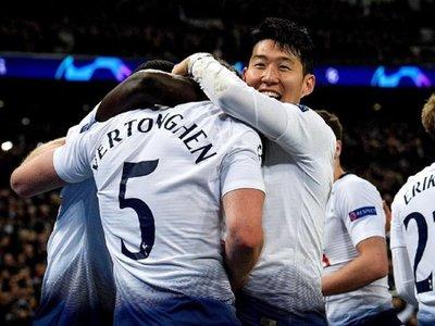 Tottenham golea al Dortmund y deja encaminado su pase