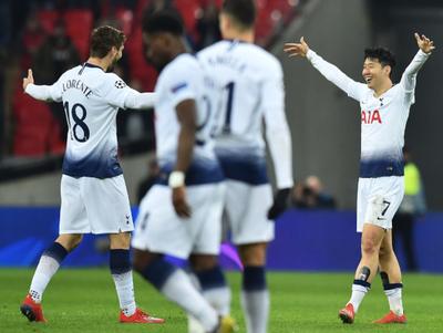 Tottenham goleó 3-0 al Dortmund en Wembley