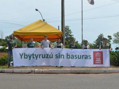Inicia con éxito campaña Ybytyruzú sin basuras en Guairá