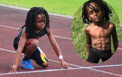 """Mitã'i de 7 años ya es el nuevo """"Usain Bolt"""""""