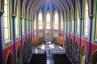 Obra arquitectónica es admirada por turistas y fieles