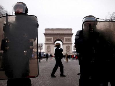 Policía detuvo a cerca de 8.400 personas por protestas de los chalecos amarillos