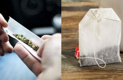 Preso fue sorprendido con marihuana al interior de unas bolsas de té