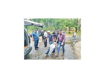 Tres soldados del PCC son trasladados de la Agrupación