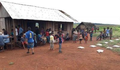 Asistencia interinstitucional en comunidad indígena Makutinga