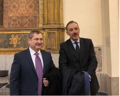 Ministro Jiménez Rolón, en Universidad de Castilla-La Mancha