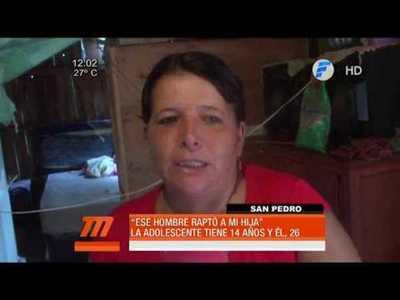 Madre desesperada denuncia el rapto de su hija de 14 años
