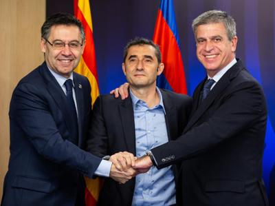 Ernesto Valverde renueva con Barcelona