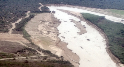 Rio Pilcomayo desbordó en algunas zonas pero la situación está controlada