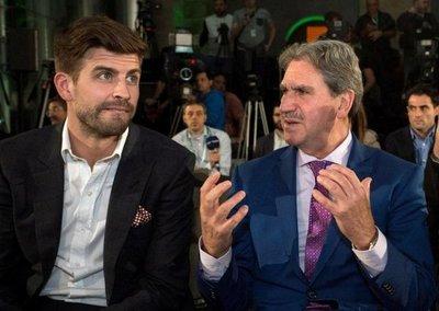 Messi, uno de los inversores de la nueva Copa Davis, dice Piqué