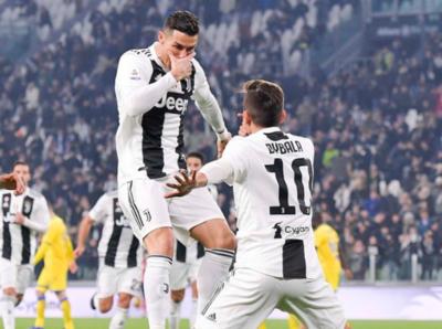 La Juventus golea y sigue firme en su lucha por la Serie A