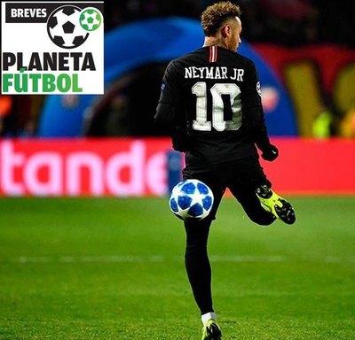 """Neymar está """"contento"""" con su evolución"""