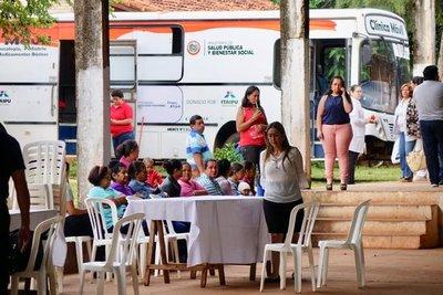 San Pedro recibe la atención pública ciudadana del Gabinete Civil