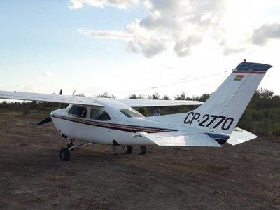 Hallan avioneta abandonada en una estancia del Chaco