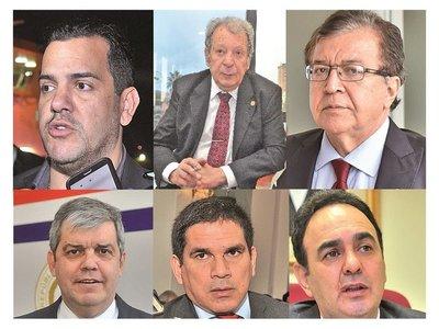 Suman ocho  los precandidatos que pujan por la conducción de la ANR